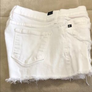 Kancan white denim shorts